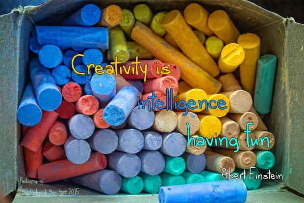 """Creativity is intelligence having fun"" [Albert Einstein]"