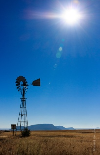 Iconic Karoo windpump
