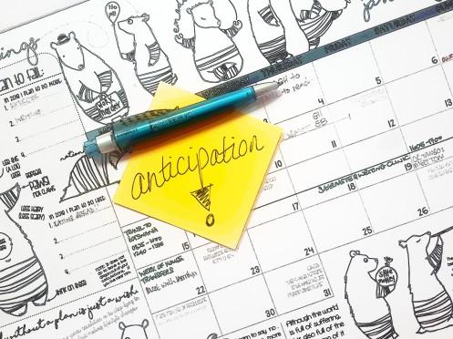 Anticipation-planner