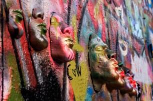 6 masks from the side (© Deborah Ann Stott 2017)