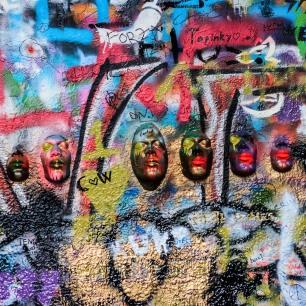 6 Masks (© Deborah Ann Stott 2017)