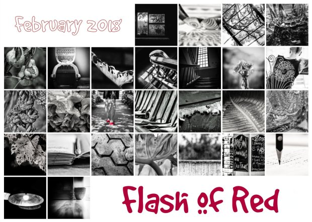 Flash of red Feb 2018