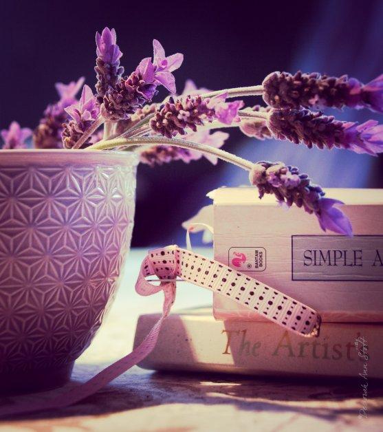 I'm a sucker for lavender, purple and books