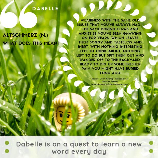 Dabelle-altschmerz