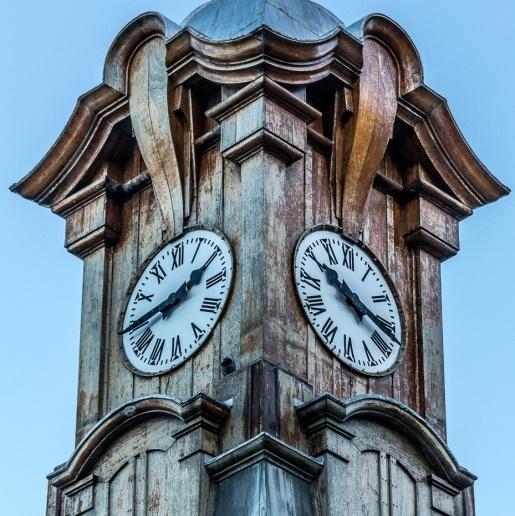 Muizenberg Station Clock © Deborah Ann Stott 2016