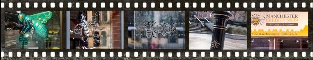 Manchester bee collage (C) Deborah Ann Stott 2019