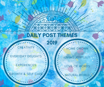 daily post themes 2019
